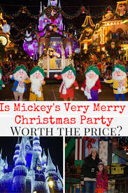 is mickey u0027s very merry christmas party worth the cost traveling mom