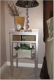 How To Make End Tables With Drawers by 93 Best Diy Mirrored Furniture Images On Pinterest Diy Mirror