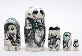 russian 5 nesting doll nightmare before sally