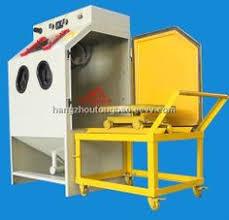 Used Blast Cabinet Wet Sand Blast Cabinet Sandblasting Machine Water Used
