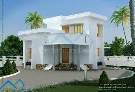 amazing flat roof homes designs flat roof house kerala home design