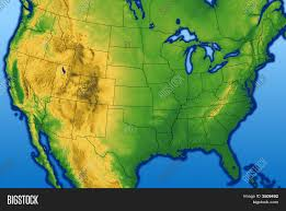 Us Map Topography Usa Terrain Map Usa Terrain Map Topographic Hillshade Map Of The