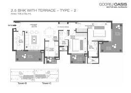 floor plan godrej oasis