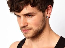 starter earrings for guys 46 why do black men wear earrings style men fashion tag