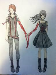 anime couple holding hands 2 by emogirl150 on deviantart