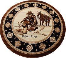 Cowboy Area Rugs Horse Area Rug Ebay