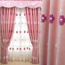 curtains for girls bedroom lovely pink chenille floral girls room nursery curtains