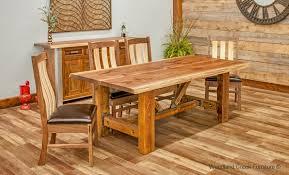 Urban Dining Room Table - industrial barn wood dining table barn wood dining table rustic