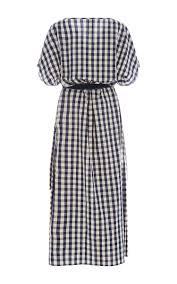 Gingham Vs Plaid Vs Tartan Gingham Poppy Slit Dress By Solid U0026 Striped Moda Operandi