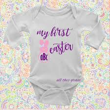 customized baby items help your one celebrate their easter with this custom