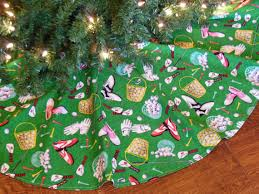 themed tree skirts golf christmas tree skirt golf christmas by kaysgeneralstore