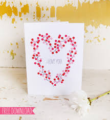 free valentines cards day 6 five free s day card printables muffin grayson