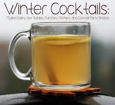 winter cocktails mulled ciders toddies punches pitchers
