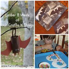 our crafts n things letter b