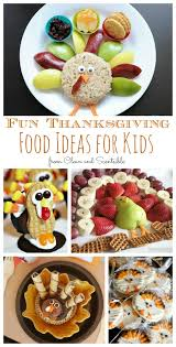 thanksgiving food ideas for clean and scentsible