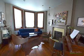a mid century victorian living dining room nicole lanteri