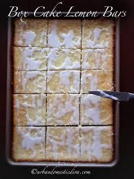 recipe box cake lemon bars by urban domestic diva epicurious