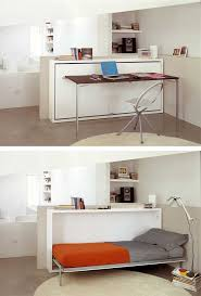 Desk Converts To Bed 29 Multifunctional Furniture Ideas For Small Apartments U2013 Vurni