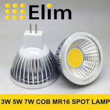 aliexpress com buy mr16 cob led lamp 12v mr16 3w 5w 7w warm