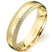 Italian Wedding Rings by Wedding Rings Set Gold Men And Women Wedding Bands By Havalazar