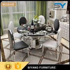 European Dining Room Furniture Classic European Style Marble Dining Table Set Ct012 Alibaba