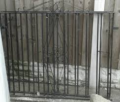 wrought iron gates second second garden items buy and