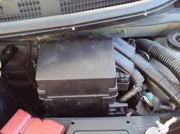 nissan micra radio removal guide to find all the fuses interior fuse box and engine bay fuse