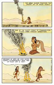 Smoke Signals Meme - hilarious cartoons with endings you ll never see coming cartoon