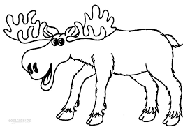Coloring Pages Of Moose printable moose coloring pages for cool2bkids