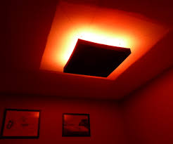rgb led ceiling mood light with hacked ir remote control 6 steps