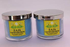 2 baja cactus blossom bath body works home 1 3 oz scented filled