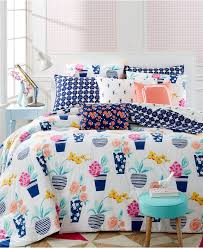 Macy S Bed And Bath Whim By Martha Stewart Pretty In Pots Bedding Collection Only At