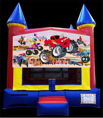 monster truck show in atlanta monster truck moonwalk inflatable rentals in the atlanta ga area