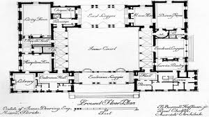 100 center courtyard house plans 28 hacienda floor plans