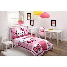 Hello Kitty Bedroom Set Twin Hello Kitty Sweetheart 3 Piece Toddler Bedding Set With Bonus