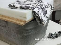 Upcycle Ottoman Wash Tub Ottoman Hometalk