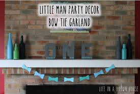 Little Man 1st Birthday Decorations Cooper U0027s Little Man First Birthday Party A Brown House