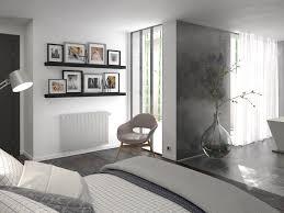 radiateur chambre chambre aménagée avec un radiateur design mythik thermor