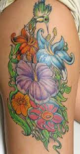 hibiscus flower tattoos high quality photos and flash designs of