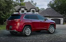 jeep cherokee 2018 interior jeep cherokee updated for 2018 with new safety tech and more