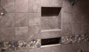Niche Bathroom Shower Tile Installation Noble Company