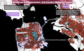 san francisco eviction map evictions anti eviction mapping project