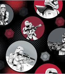 stormtroopers fleece fabric star wars vii fabric joann