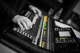 Sound Desk Sound System Rental Event Equipment Brähler Convention