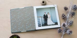 parent wedding albums muujee personalized wedding guest book alternatives diy guest