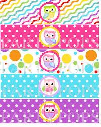 15 best images of owl birthday printable label free printable