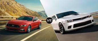 ford mustang chevy camaro ford mustang vs 2015 chevy camaro