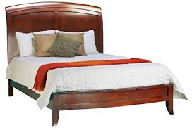 amazon com 4pc solid pine queen size bed complete amazon com modus furniture br15s5 brighton low profile sleigh bed