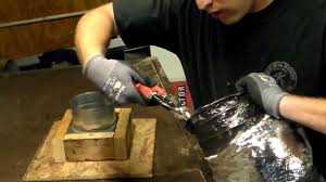 how to cut connect and install flex duct flexible pipe for