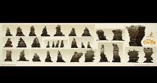 Best Chess Design The Croods Visual Development Designs By Jason Scheier Concept